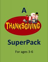 Thanksgiving Preschool Pack- 48 Pages! $