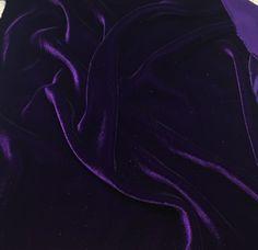 Aubergine PURPLE Silk Velvet Fabric fat by silkfabric on Etsy Rakan League Of Legends, Design Jobs, W Clothing, Dark Purple Aesthetic, Violet Aesthetic, Rainbow Aesthetic, Swatch, Yennefer Of Vengerberg, Mileena
