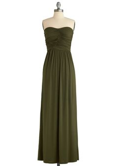 Always and For Evergreen Dress, #ModCloth