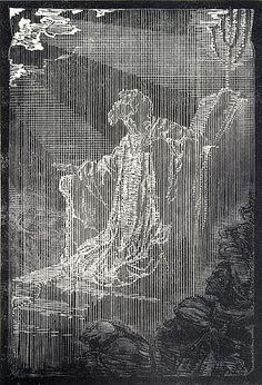 Český symbolismus.  František Bílek Galerie D'art, Rodin, Etchings, Prague, Devil, Art Nouveau, Villa, Sketch, Carving