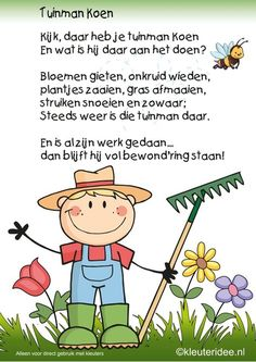 Picture Comprehension, Learn Dutch, Kids Poems, Spring Theme, School Themes, Spring Blossom, Drawing For Kids, Colouring Pages, School Projects
