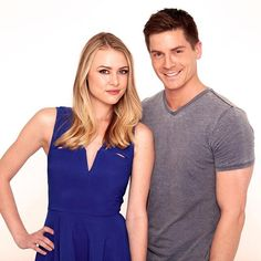 Haley and Robert as Kiki and Dillon on General Hospital