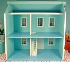 Doll House Ideas On Pinterest Doll Houses Miniature Kitchen And Log Cabin Interiors