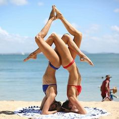 Yoga is for all ages. find your balance. balance is key.Have fun with yoga. Find yourself in yoga. yoga for beginners Photo Zen, Photo Yoga, Couple Yoga, Yoga Images, Yoga Pictures, Free Pictures, Girl Pictures, Yoga Challenge, Partner Yoga Poses