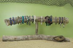 Driftwood Jewelry Holder / Bracelet Display / by StrollinTheBeach, $39.00
