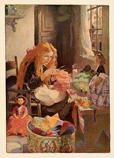 016-Dickens's children 1912- Jessie Willcox Smith