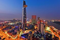 Saigon City Night Tour Including Bitexco Tower Entry and Dinner Visit Bitexco Financial Tower and enjoy local food tastings on this private Ho Chi Minh City tour. Start with ice cream on the rooftop deck of a local ice cream shop, followed by a traditional Vietnamese dish from a nearby eatery. Then, as day turns into night, head to the Bitexco Tower for a panoramic view of the city lit up against the dark sky. You'll enjoy a more personalized experience.Pick up from your hotel...