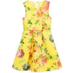 Bonnie Jean SS 2016 ***Yellow Floral Print Dress