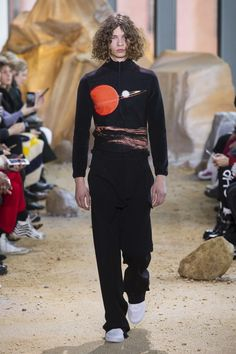 lacoste pays homage to space travel and grunge history with fall/winter 17 | read | i-D