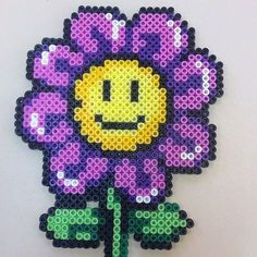 perler flowers - Google Search