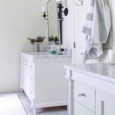 This bathroom is so pretty! #interiordesign #stoneconnection #Atl #Norcross #Remodeling #Marble #granite