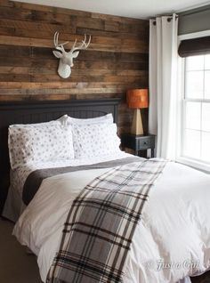 Rustic home decor bedroom ideas - Bong Pret Rustic home decor bedroom ideas Interior Design Blogs, Nordic Interior, Interior Livingroom, Design Interiors, Home Decor Bedroom, Bedroom Ideas, Bedroom Rustic, Pallet Wall Bedroom, Bedroom Furniture