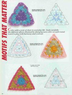 .Häkeln - Triangle - crochet