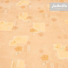 jubelis® Wachstuch Tischdecken Rollenware Viola terra mit kleinen Blumen