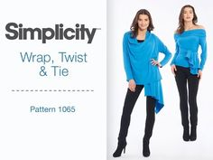 Watch this video for 7 great ways to wear the Simplicity cardigan. The Wrap, Twist & Tie cardigan from Simplicity offers several great styles from one easy to sew pattern. Need the pattern? You can buy it here: http://www.simplicity.com/p-12410-misses-wrap-twist-tie-knit-cardigan.aspx