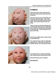 Great Face #Sculpting Tutorial from start to finish