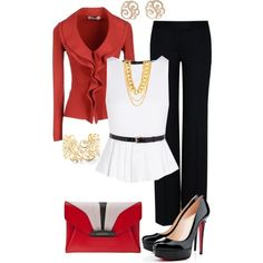 Inspired by the flag of my great country. EGYPT, created by zeinab-adel on Polyvore