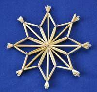 Tutorial for weaving wheat stars