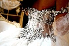 Now that is a wedding dress.
