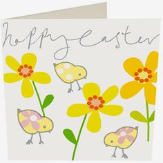 print & pattern: HAPPY EASTER ! - back on april 7th