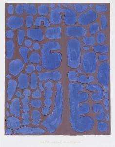 "peinture abstraite suisse : Paul Klee, ""Late Evening Looking Out of the Woods"", bleu Art Dégénéré, Paul Klee Art, Art Moderne, Art Graphique, Wassily Kandinsky, Famous Artists, Textures Patterns, Abstract Expressionism, Painting & Drawing"