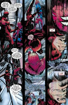 Spider-Man and Daredevil in Amazing Spider-Man #677.