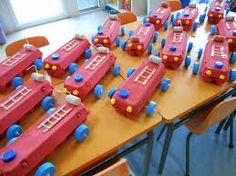 """Résultat de recherche d'images pour """"construire camion de pompier maternelle"""""""