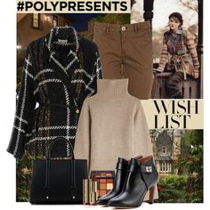 #PolyPresents: Wish List by polybaby on Polyvore featuring Khaite, Ella Luna, Barba, Givenchy, La Perla, Huda Beauty, ootd, contestentry and polyPresents