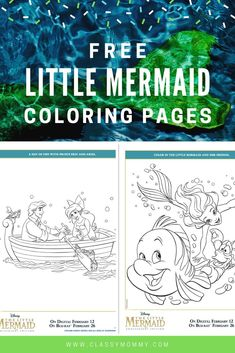 Do your kids LOVE free coloring pages? We've got OVER 500 Free Printable Disney Coloring Pages! I love surprising my kids with free printable activity shee Mermaid Coloring Pages, Disney Coloring Pages, Free Printable Coloring Pages, Coloring Pages For Kids, Disney Printables, Free Printables, Doc Mcstuffins Coloring Pages, Happy Mom, Love Is Free