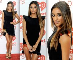 Shay Mitchell ombre hair and that dress Love it! http://aguidetowhatsinsideyourbeautybag.blogspot.com/2013/10/laura-geller-eye-elements-baked.html