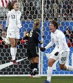 Alex Morgan - scores winning goal against New Zealand (Frisco, Tx)
