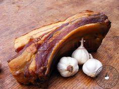 AFUMATURI My Favorite Food, Favorite Recipes, Smoking Meat, Ham, Sausage, Bacon, Garlic, Food And Drink, Vegetables