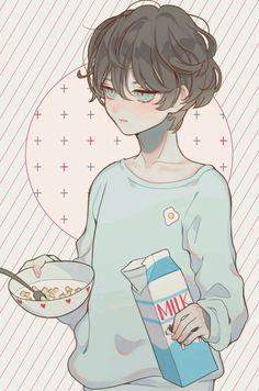 Картинка с тегом «anime, boy, and art»