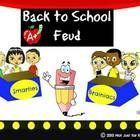 Back to School Feud Powerpoint Game: GREAT ice breaker for the first day of school
