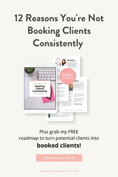 If you're worried that your not booking as many clients as you should then I've got the perfect thing for you- my FREE client onboarding roadmap! This will help you gain more clients even turn those potential clients into booked client overnight. Grab your copy today! #neshawoolery #onboarding #smallbusinessmarketing #marketingstrategy #marketingtips Business Articles, Business Tips, Entrepreneur Inspiration, Small Business Marketing, Books, Free, Libros, Book, Book Illustrations
