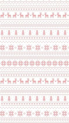 Pastel pink white snowflakes reindeer jumper sweater pattern iphone wallpaper background phone lock screen Source by adriennmedvegy Iphone Wallpaper Pink, Cocoppa Wallpaper, S8 Wallpaper, Wallpaper For Your Phone, Pattern Wallpaper, Wallpaper Backgrounds, Mobile Wallpaper, Trendy Wallpaper, Christmas Paper