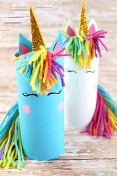 Try to make these gorgeous unicorn crafts at home with the kids. They will enjoy playing and making these cute unicorns for kids this Summer! kids crafts Unicorn Crafts For Kids Crafts Fir Kids, Crafts For Kids To Make, Crafts For Teens, Preschool Crafts, Diy And Crafts, Kids Diy, Party Crafts, Kids Arts And Crafts, Children Crafts