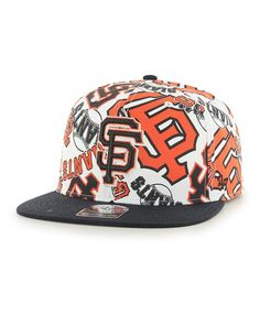 San Francisco Giants Bravado Captain White 47 Brand Adjustable Hat - Great  Prices And Fast Shipping at Detroit Game Gear 0359513ac