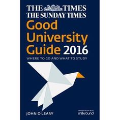 The Times and Sunday Times Good University Guide is an essential tool that gives you all the information you need to make the crucial decisions on what to study, where to study, and how much it might cost. Objective and authoritative, it is the best-selling guide to making the right university choice for you