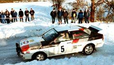 Michèle Mouton - Fabrizia Pons 32nd International Swedish Rally 1982 (Audi Quattro)