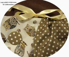 Stoffpakete - Stoffpaket♥W-Loop♥DIY Eulen-hell/Dots & Button+ - ein Designerstück von kreawusel-aufgehuebscht bei DaWanda