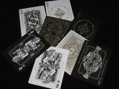 Dominus 2 Deck Set Rare Limited Edition Custom Playing Cards | Obscura & Divinus | eBay
