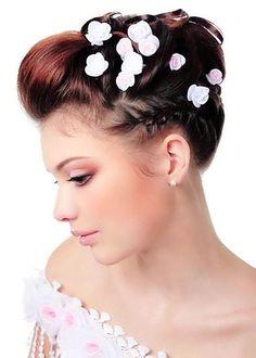 Short Wedding Hair Ideas...