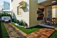 Decoração para apartamento garden (prós e contras) www.comprandomeuape.com