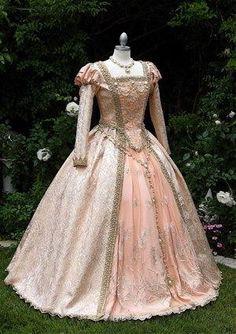 Shakespears in Love Elizabethan Princess Cinderella Deluxe Fantasy Gown Custom