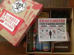 Zombie survival candy kit for my love on v-day. Diy Presents, Diy Gifts, Handmade Gifts, The Walking Dead Halloween, Survival Kit Gifts, Survival Gear, Halloween Care Packages, Health Snacks For Work, Zombie Party