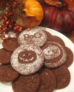 Make a stencil for your holiday goodies!