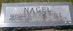 NAGEL, MARY ZUELLA - Muscatine County, Iowa | MARY ZUELLA NAGEL