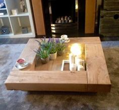 Zening life: Coffee table – Mesa de sala