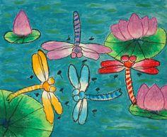 Elementary School Art Projects | ... pastel by Emily Zou, Grade 2, Age 7, Haun Elementary School, Plano ISD